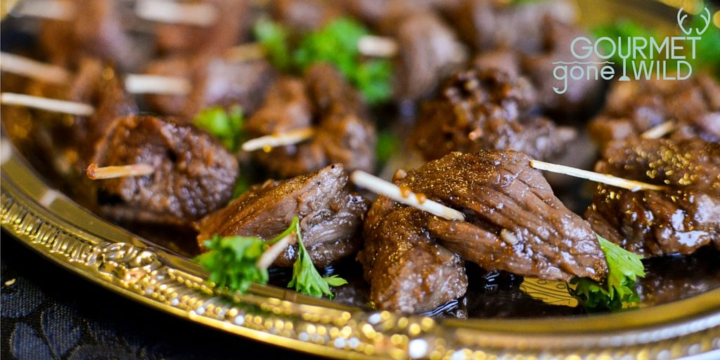 Gourmet Gone Wild Venison Kabobs