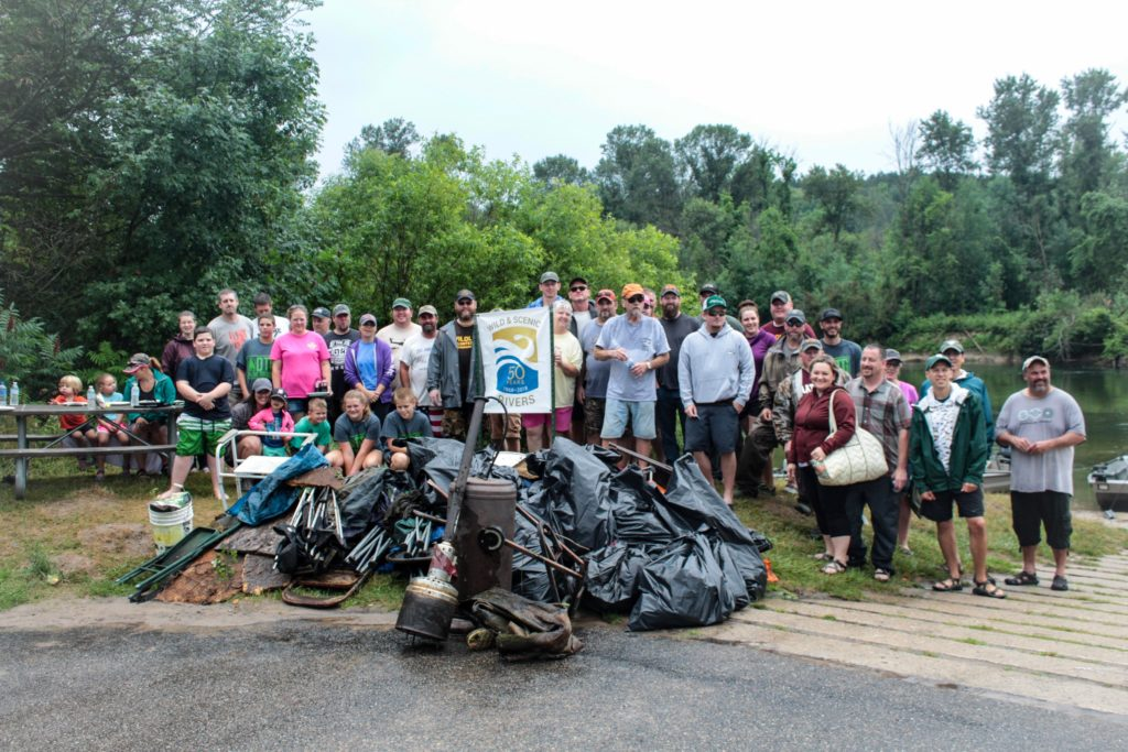 OTG: Manistee River Clean Up - Michigan United Conservation