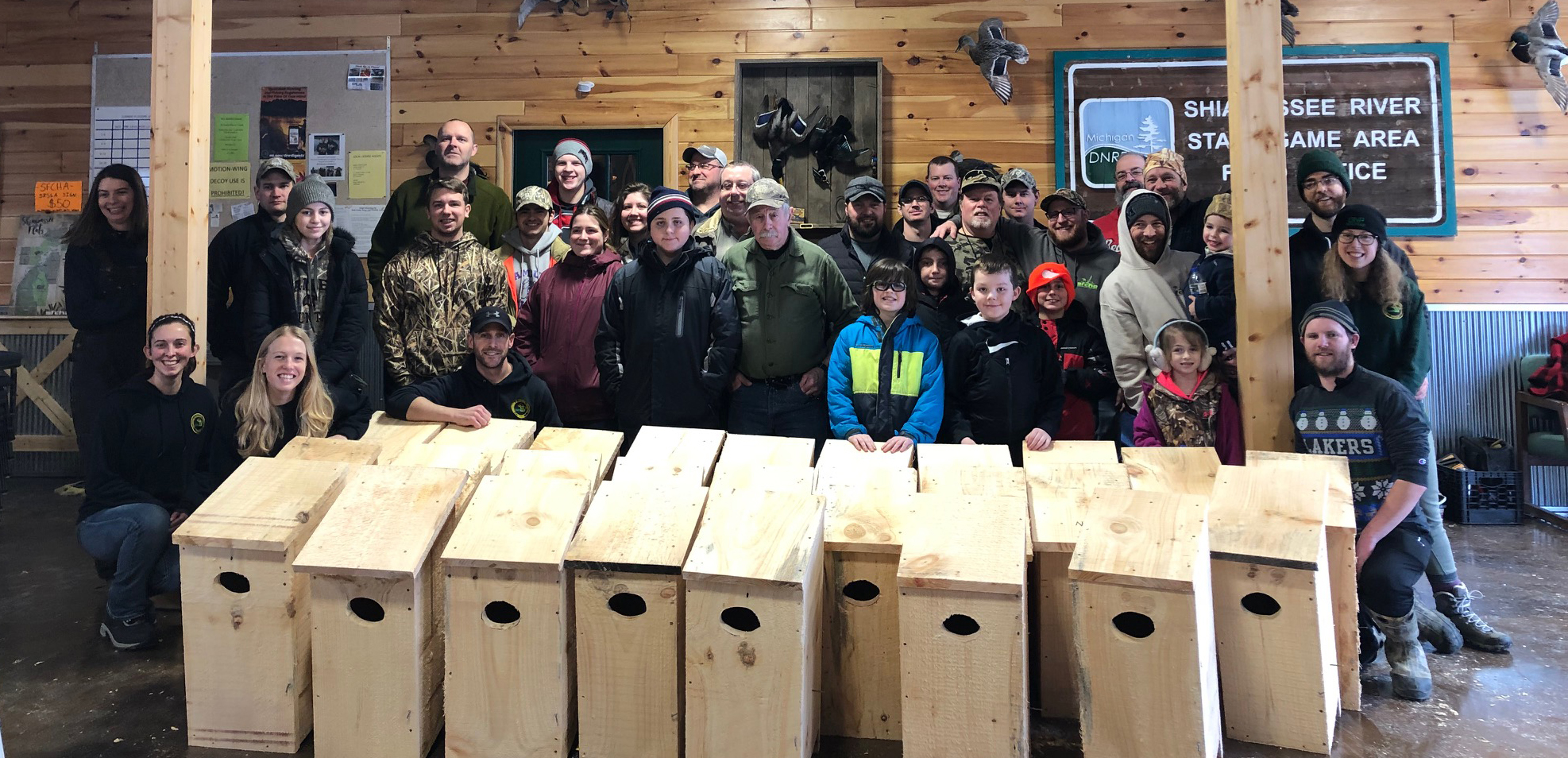 ON THE GROUND - Michigan United Conservation Clubs